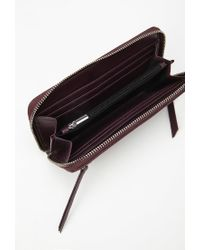 Forever 21 - Purple Faux Leather Wallet - Lyst