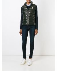 Moncler - Green Ghany Quilted Vest - Lyst