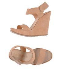 Pedro Garcia | Natural Sandals | Lyst