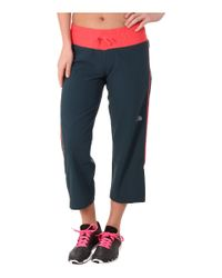 The North Face | Blue Torpedo Stretch Capri | Lyst