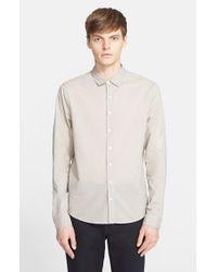 ATM - Natural Trim Fit Cotton Lawn Shirt for Men - Lyst