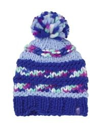 The North Face - Multicolor 'nanny' Knit Beanie - Purple - Lyst