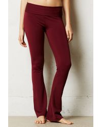 Anthropologie | Red Rubied Bootcut Legging | Lyst