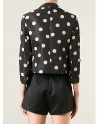 RED Valentino | Black Blazer | Lyst