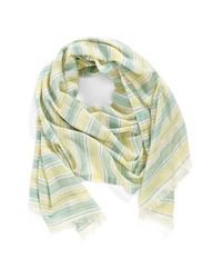 Echo - Green 'pacific' Stripe Wrap - Lyst