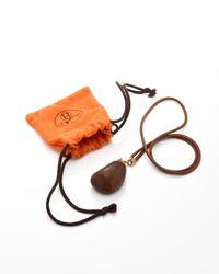 Hermès - Metallic HermãˆS Brown Necklace - Lyst