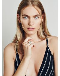 Free People - Metallic Bahgsu Jewels Womens Starlight Ring - Lyst