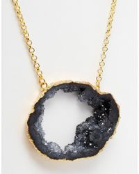Only Child | Metallic Nly Child Dark Clouds Necklace | Lyst