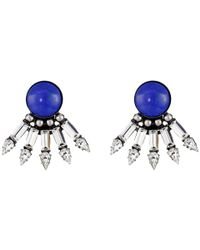 DANNIJO | Blue Zev Earrings | Lyst
