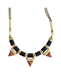 Jenny Bird | Black Treepoint Necklace | Lyst