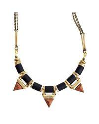 Jenny Bird - Black Treepoint Necklace - Lyst