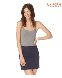 Aéropostale | Blue Pocketed Uniform Skirt | Lyst