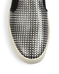 Vince - Multicolor Blair-5 Monochrome Leather Skate Sneakers for Men - Lyst
