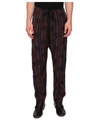Uma Wang - Natural Viscose Pants for Men - Lyst