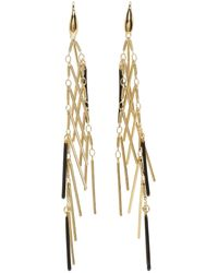 Isabel Marant | Metallic Gold Good Swung Fringe Earrings | Lyst