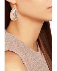 Ippolita - Yellow Rock Candy 18-Karat Gold Quartz Earrings - Lyst