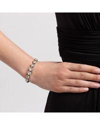 John Lewis | Metallic Crystal Clasp Bracelet | Lyst