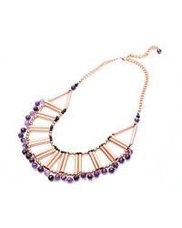 Nakamol | Multicolor Adriatic Necklace-amethyst | Lyst