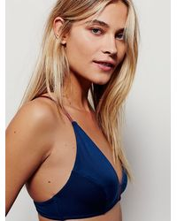 Free People - Blue Intimately Womens Talisman Soft Bra - Lyst