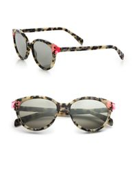 Marc By Marc Jacobs | Multicolor Contrast Temple 51mm Cat's-eye Sunglasses | Lyst