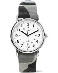 Timex | Gray Camouflage Watch for Men | Lyst