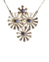 Erika Cavallini Semi Couture | Metallic Necklace | Lyst
