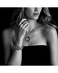 David Yurman - Metallic Infinity Large Pendant with Diamonds in Gold On Chain - Lyst