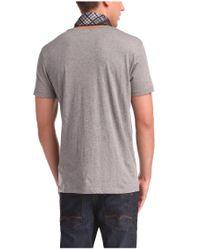 BOSS Orange | Gray 'teofilo' | Cotton Graphic T-shirt for Men | Lyst