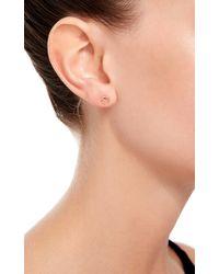 Loquet London - Metallic 14k Gold Horseshoe Stud Earrings - Lyst
