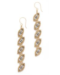 Miguel Ases | Metallic Harper Earrings - Slate Multi | Lyst