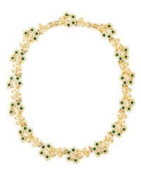 Nina Ricci | Metallic 'bouquet' Necklace | Lyst