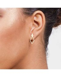 Dutch Basics | Metallic Ruit Classic Earrings | Lyst