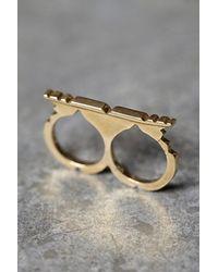 Free People - Metallic Filili By Luiny Womens Tuareg Double Ring - Lyst