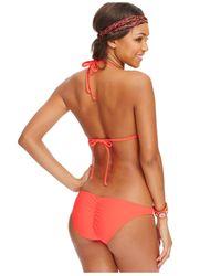 Volcom - Black Hipster Bikini Bottom - Lyst