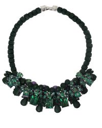 EK Thongprasert - Green Croise Necklace - Lyst