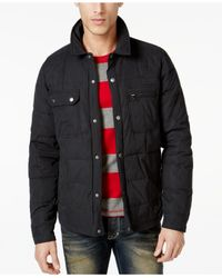 Volcom | Black Swaun Quilted Jacket for Men | Lyst