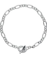 Links of London | Metallic Signature Xs Charm Bracelet | Lyst