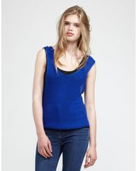 Wool And The Gang | Blue Tala Tank Top | Lyst