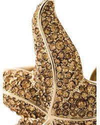 Roberto Cavalli | Metallic Embellished Sea Star Bracelet | Lyst