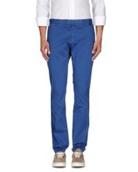 AT.P.CO | Blue Casual Pants for Men | Lyst