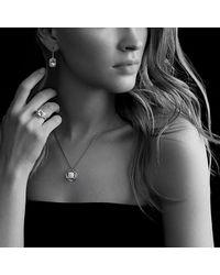 David Yurman | Metallic Infinity Cushion Pendant Necklace With Diamonds In Gold | Lyst