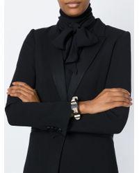 Givenchy | Black Studded Bracelet | Lyst