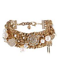Lulu Frost - Metallic Goldtone Bord De La Mer Bracelet - Lyst