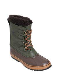 Sorel - Brown 1964 Pac Waterproof Nylon Winter Boots - Lyst