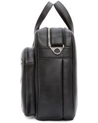 DIESEL | Black Leather Crash Briefcase for Men | Lyst