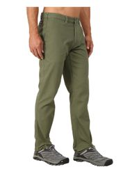 Patagonia | Green Straight Fit Duck Pant - Regular for Men | Lyst