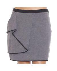 Armani Jeans - Gray Skirt - Lyst