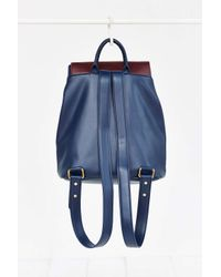 Kimchi Blue - Blue Clean Colorblock Backpack - Lyst