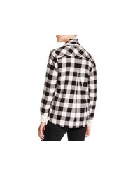 Alternative Apparel | Black Bungalow Buffalo Check Cardigan | Lyst