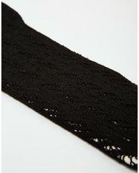 Calvin Klein | Black Luxurious Knee High Socks | Lyst